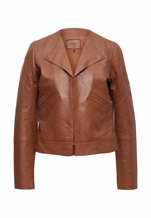 Куртка кожаная Sinequanone F000013-C057