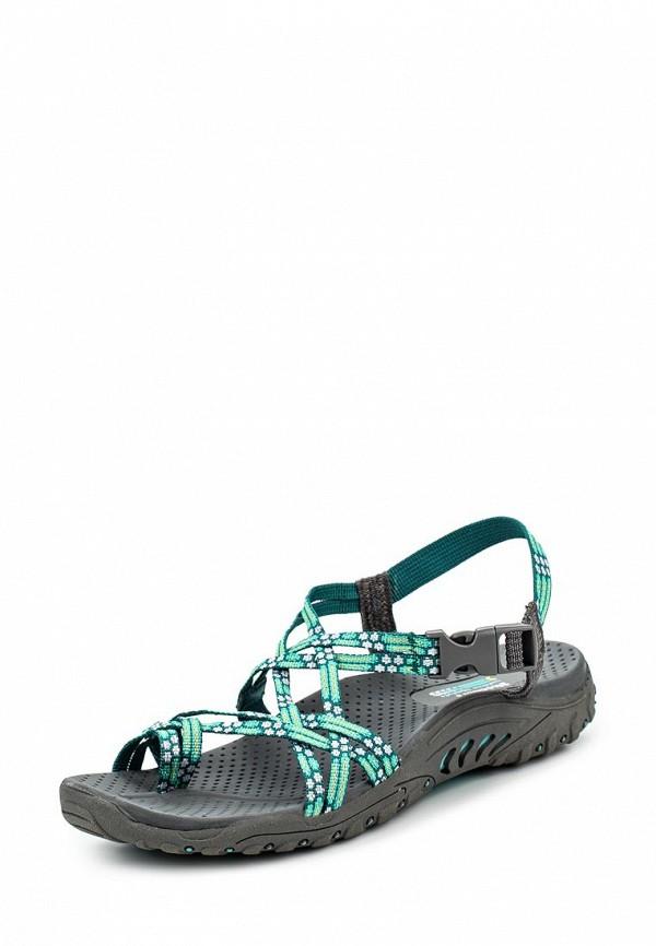 Женские сандалии Skechers (Скетчерс) 40875