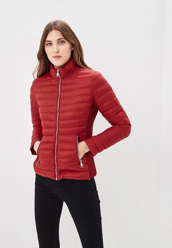 Купить Куртка утепленная Softy, SO017EWAVXR8, бордовый, Весна-лето 2018