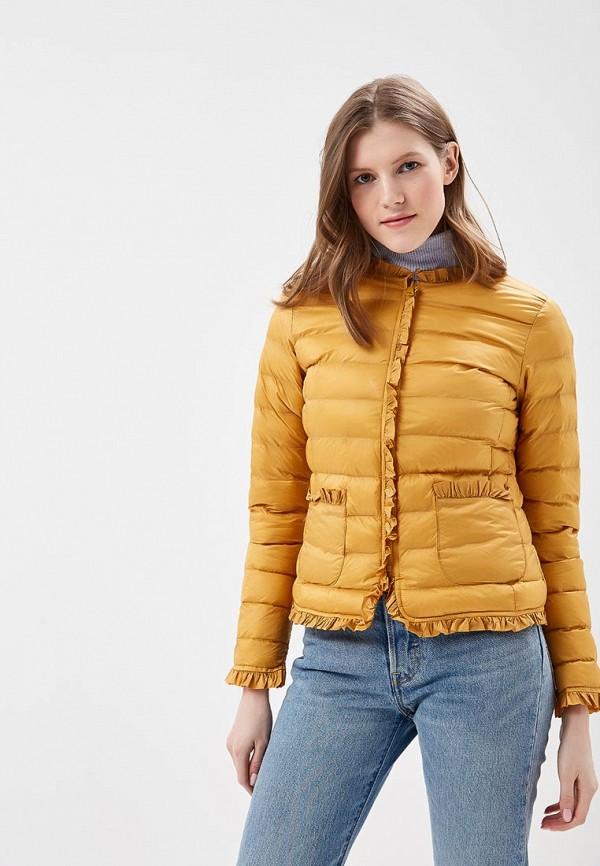 Купить Куртка утепленная Softy, SO017EWAVXS0, желтый, Весна-лето 2018