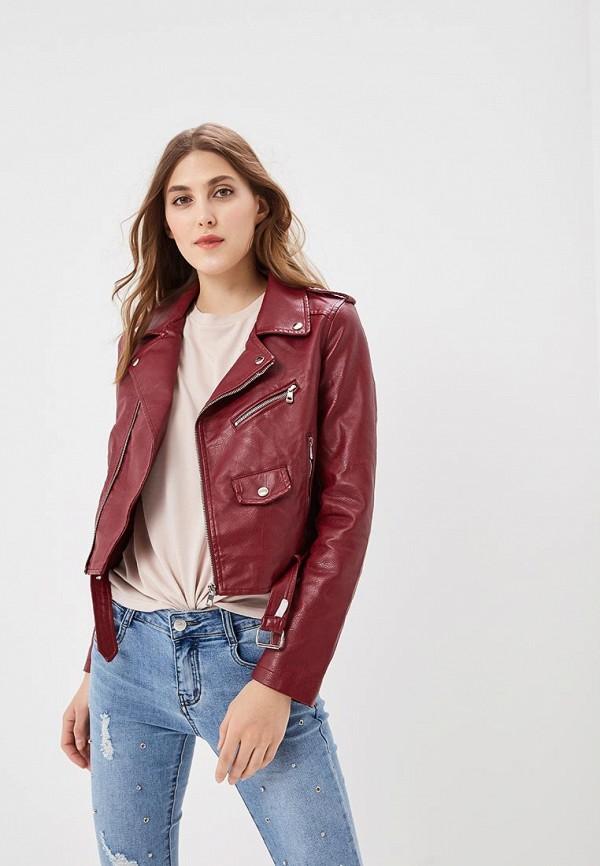 Куртка кожаная Softy Softy SO017EWAVXZ6 свитер softy softy so017ewmju38