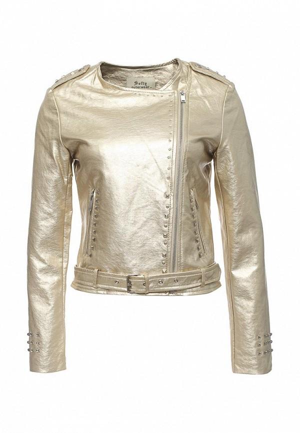 Куртка кожаная Softy Softy SO017EWROZ59 softy so017ewmju80
