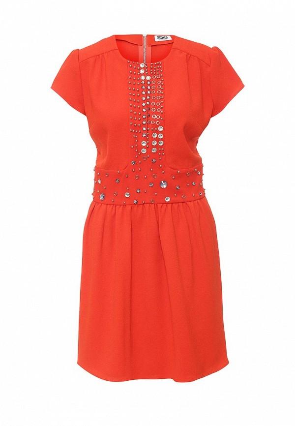 Платье-миди Sonia by Sonia Rykiel 16E 85435424-7B