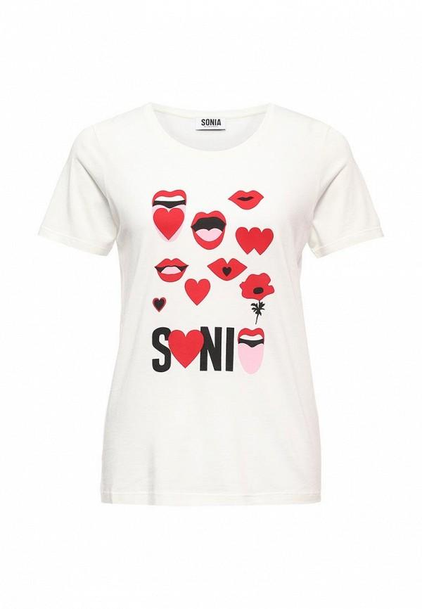 Футболка с надписями Sonia by Sonia Rykiel (Соня Рикель) 86267082-59