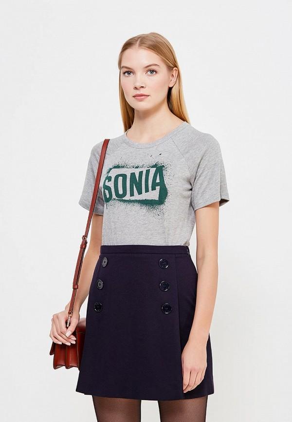 Футболка Sonia by Sonia Rykiel Sonia by Sonia Rykiel SO018EWTDH06 sonia by sonia rykiel футболка