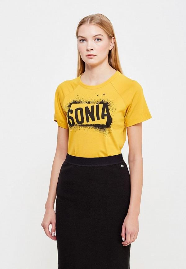 Футболка Sonia by Sonia Rykiel Sonia by Sonia Rykiel SO018EWTDH07 sonia by sonia rykiel футболка