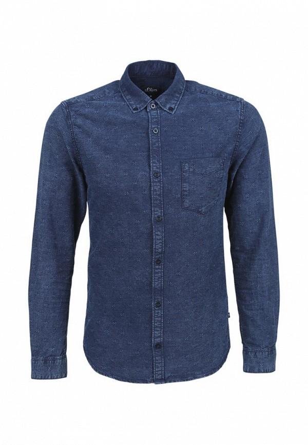 Рубашка с длинным рукавом s.Oliver Denim (с.Оливер Деним) 40.601.21.5772