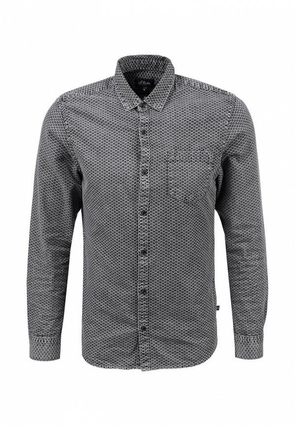 Рубашка с длинным рукавом s.Oliver Denim (с.Оливер Деним) 40.602.21.5414