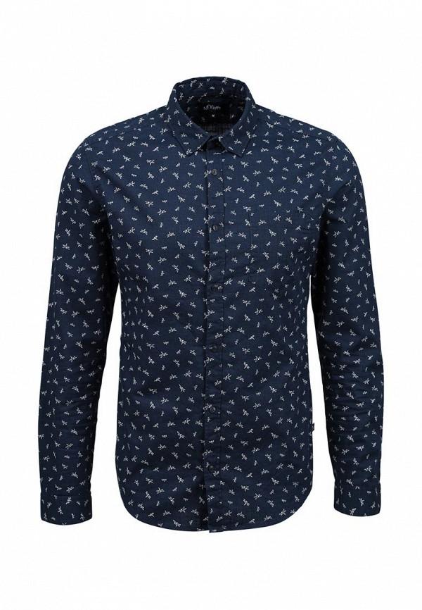 Рубашка с длинным рукавом s.Oliver Denim (с.Оливер Деним) 40.603.21.7103