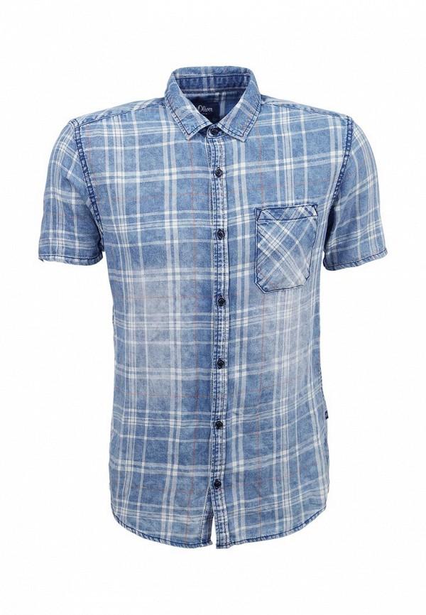 Рубашка с коротким рукавом s.Oliver Denim (с.Оливер Деним) 40.604.22.2515