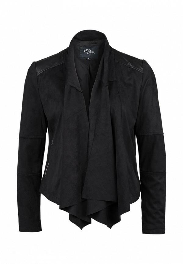 Кожаная куртка s.Oliver Denim (с.Оливер Деним) 46.601.51.3295