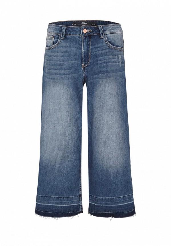 Широкие и расклешенные джинсы s.Oliver Denim (с.Оливер Деним) 41.603.72.8128