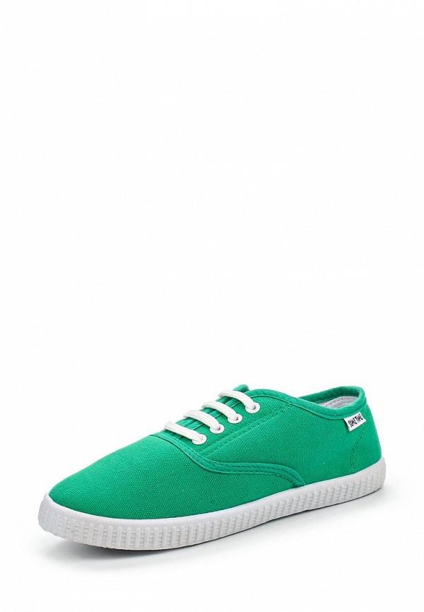Купить Кеды Sometime зеленого цвета