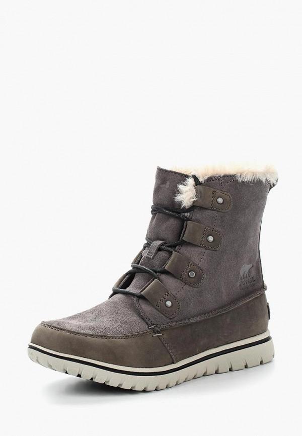 Фото - Ботинки Sorel серого цвета