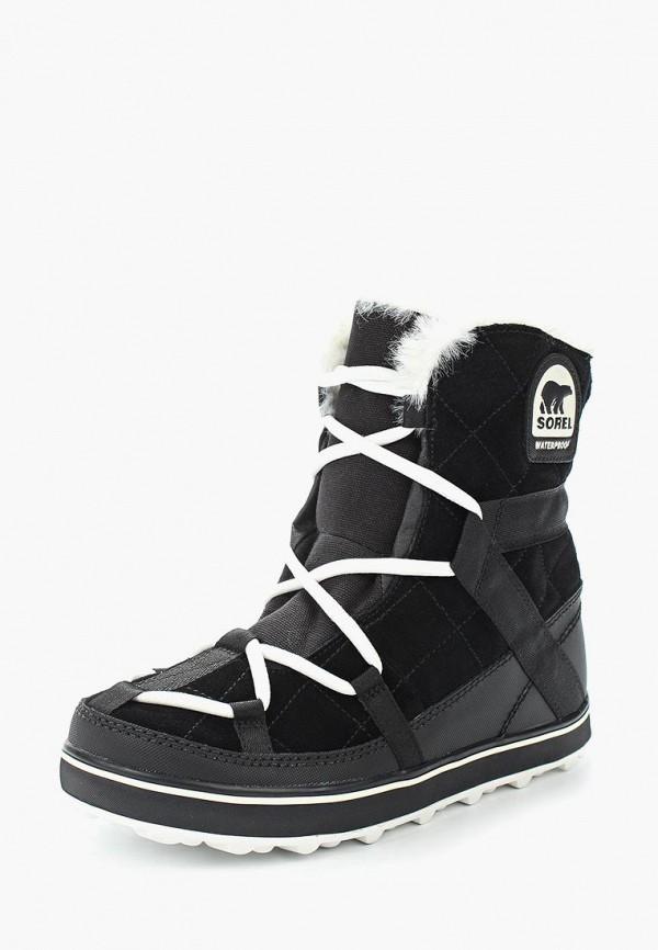 Фото - Ботинки Sorel черного цвета