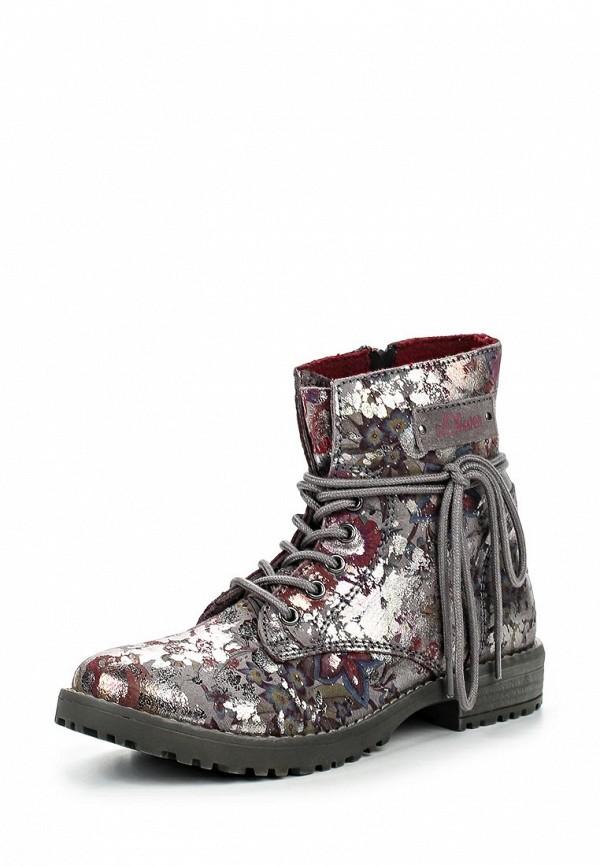 Ботинки для девочек s.Oliver (с.Оливер) 5-5-45204-37-951