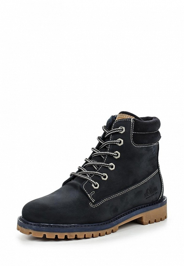 Ботинки для девочек s.Oliver (с.Оливер) 5-5-45109-37-805