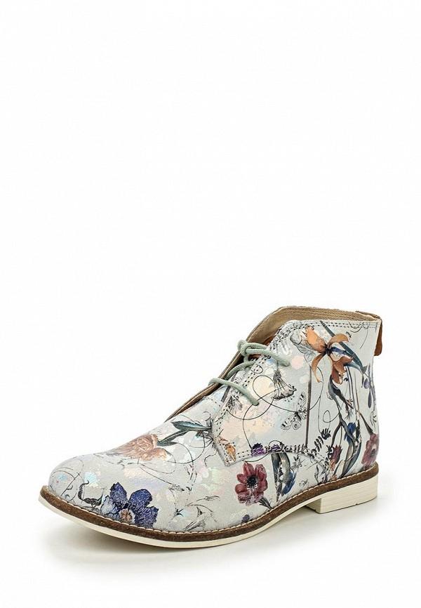 Женские осенние серебряные ботинки