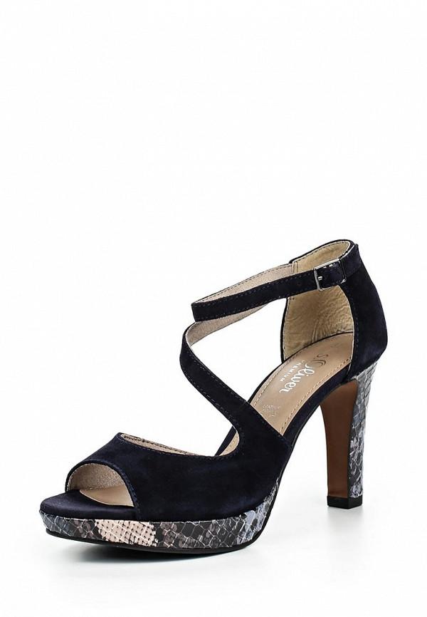 Босоножки на каблуке s.Oliver (с.Оливер) 5-5-28323-26-805