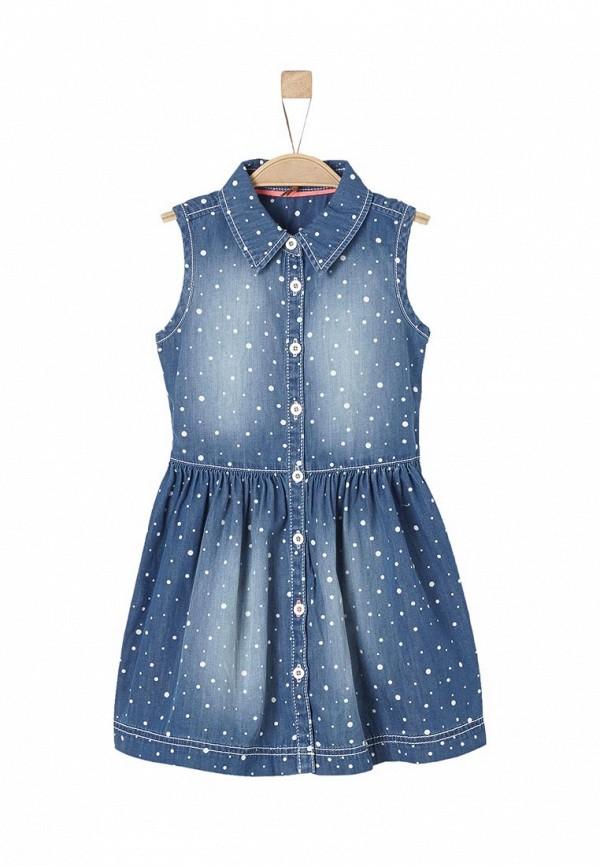 Платье джинсовое s.Oliver s.Oliver SO917EGQKI24 джинсовое платье
