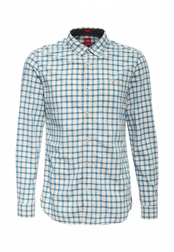 Рубашка с длинным рукавом s.Oliver (с.Оливер) 13.602.21.4848