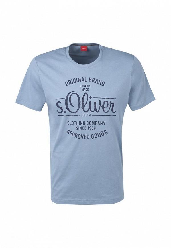 Футболка с надписями s.Oliver (с.Оливер) 13.608.32.2470