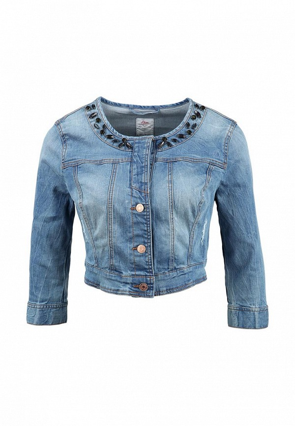 Джинсовая куртка s.Oliver (с.Оливер) 14.504.51.4044