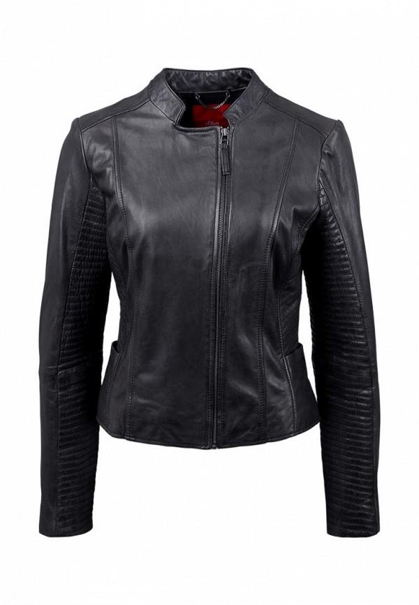 Кожаная куртка s.Oliver (с.Оливер) 05.602.51.7121