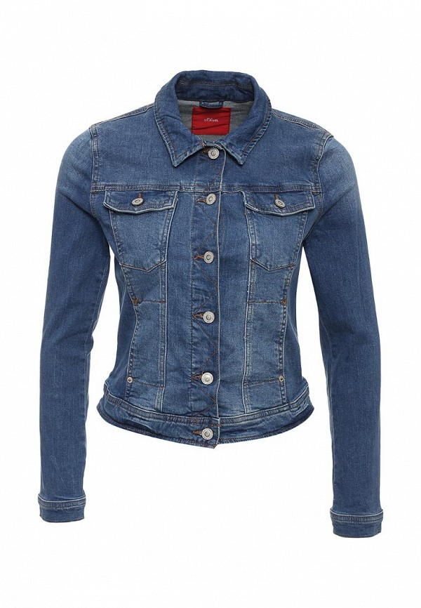 Джинсовая куртка s.Oliver (с.Оливер) 14.603.51.4161