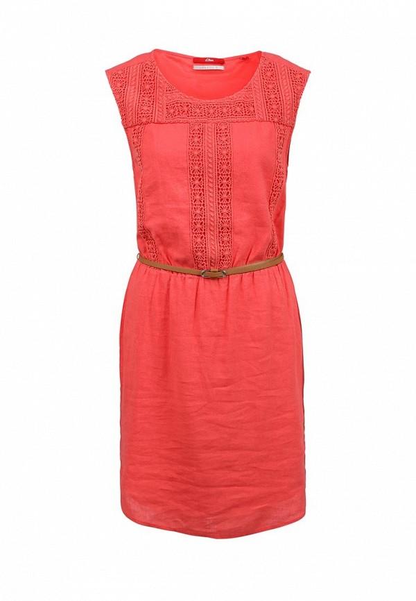 Платье-миди s.Oliver (с.Оливер) 14.603.82.4961
