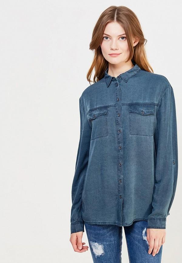 Фото - женскую рубашку s.Oliver синего цвета