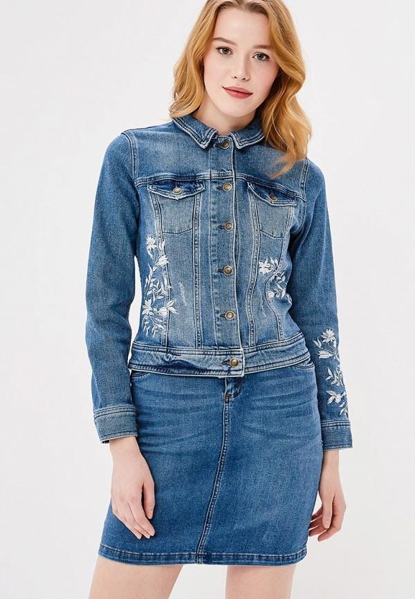 Купить Куртка джинсовая s.Oliver, SO917EWZMD31, синий, Весна-лето 2018