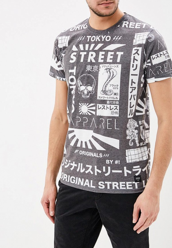 Футболка Solid Solid SO999EMARNO6 trybeyond футболка для мальчика 999 74498 00 40z серый trybeyond