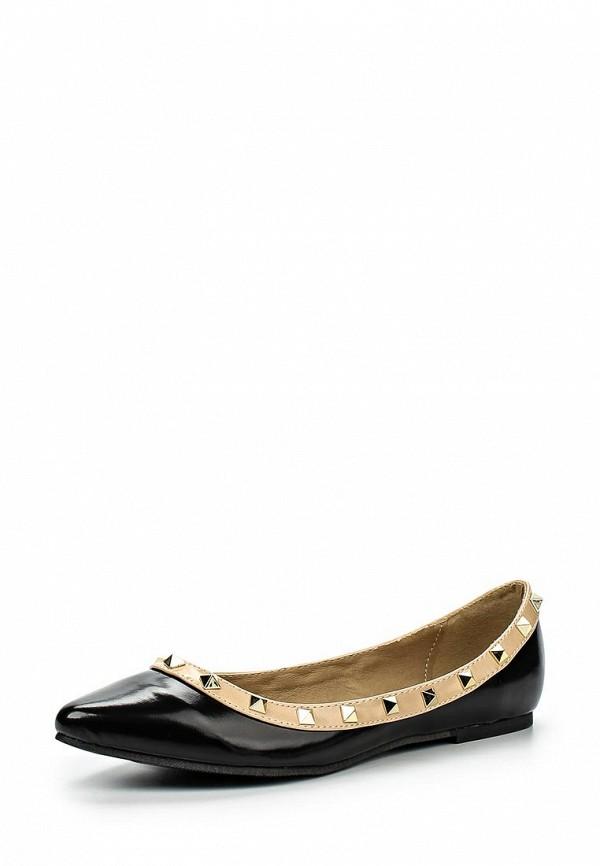 Туфли на плоской подошве Spurr BAMBI STUDDED BALLET FLATS