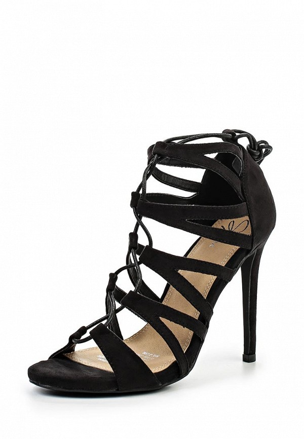 Женские босоножки Spurr MEGAN STRAPPY  LACE UP CAGE HEELS