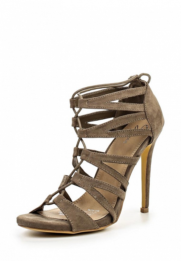 Босоножки на каблуке Spurr MEGAN STRAPPY  LACE UP CAGE HEELS