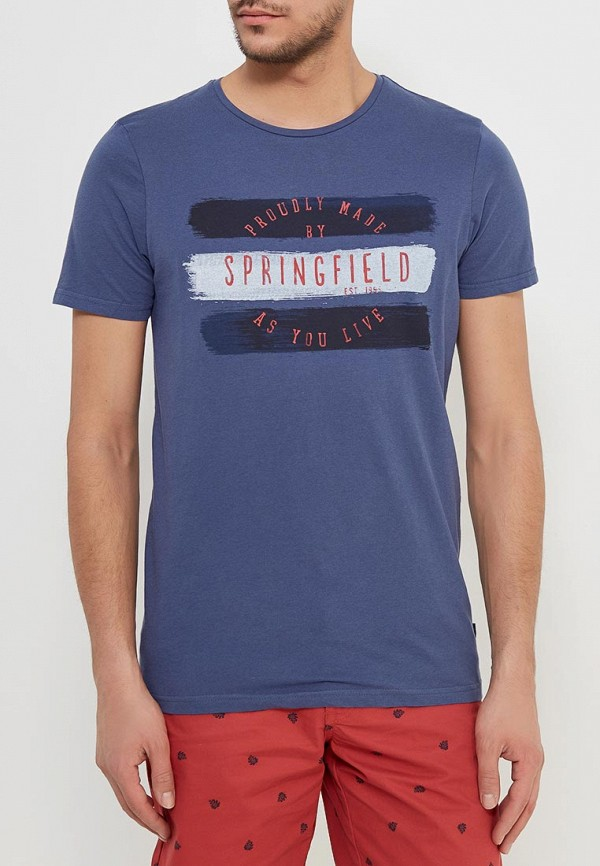 Футболка Springfield Springfield SP014EMAIHY7 футболка springfield springfield sp014emrkf75
