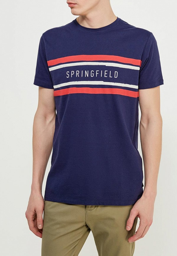 Футболка Springfield Springfield SP014EMAIHZ0 цена