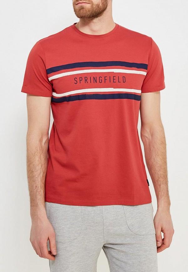 Футболка Springfield Springfield SP014EMAIHZ1 цена