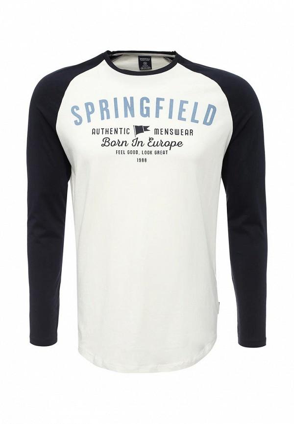 Лонгслив Springfield Springfield SP014EMVGC58 лонгслив springfield springfield sp014ewrkw41