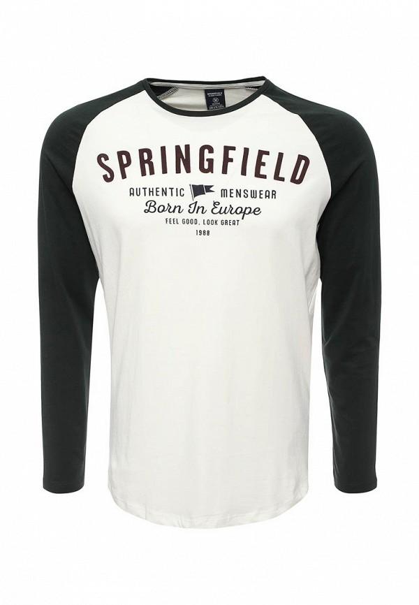 Лонгслив Springfield Springfield SP014EMVGC59 лонгслив springfield springfield sp014ewrkw41