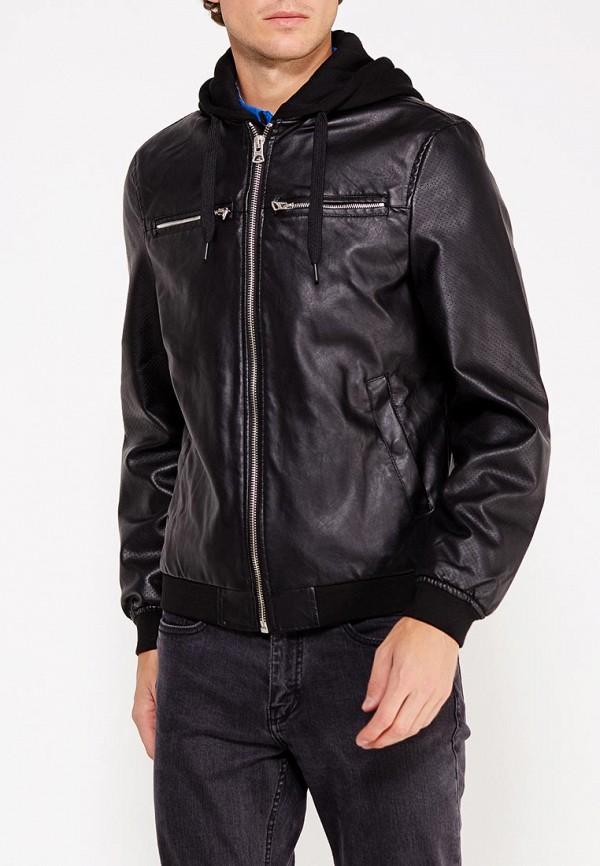 Куртка кожаная Springfield Springfield SP014EMVGD02 куртка springfield springfield sp014emvgd15
