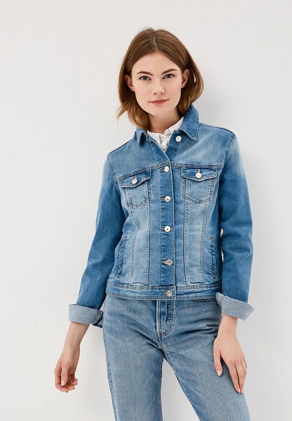 Купить Куртка джинсовая Springfield, SP014EWAGNC2, голубой, Весна-лето 2018