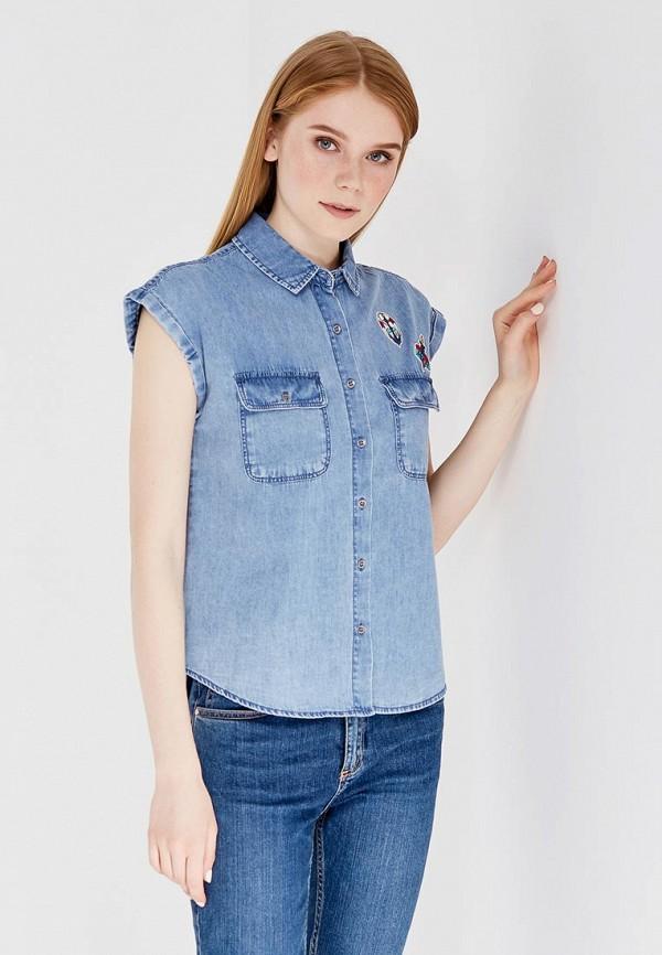 Рубашка джинсовая Springfield Springfield SP014EWTBC27
