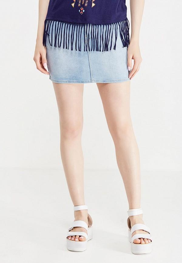 Юбка джинсовая Springfield Springfield SP014EWTBC33