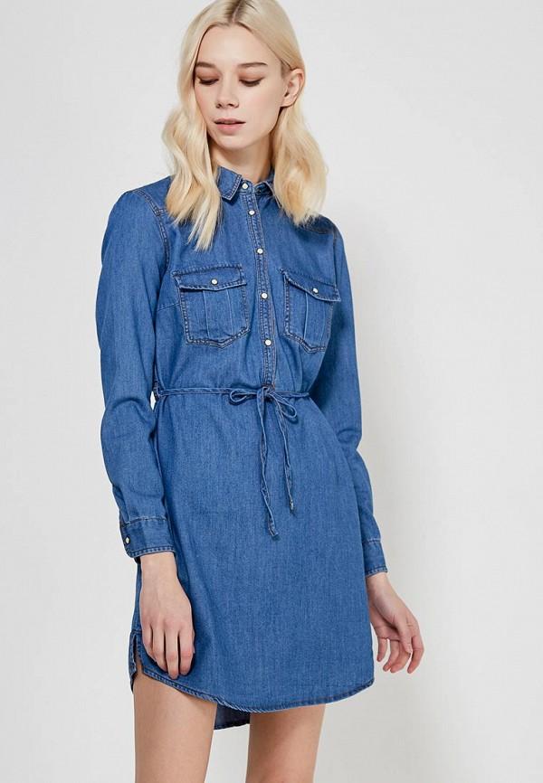 Платье джинсовое Springfield Springfield SP014EWVGI65