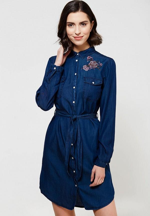 Платье джинсовое Springfield Springfield SP014EWXCT70 джинсовое платье