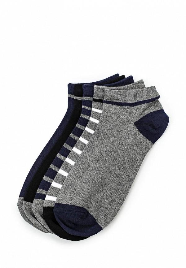 Комплект носков 5 пар Springfield Springfield SP014FMRKG14 комплект носков 5 пар ecko цвет черный