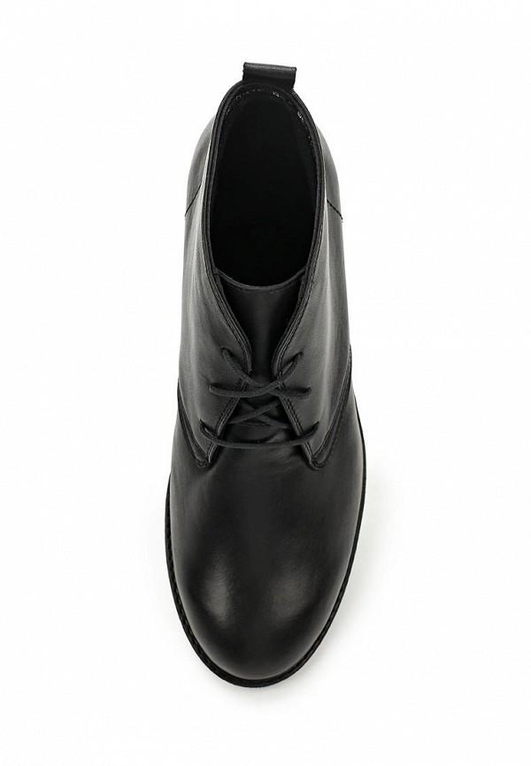 Фото 4 - женские ботинки и полуботинки Спартак черного цвета