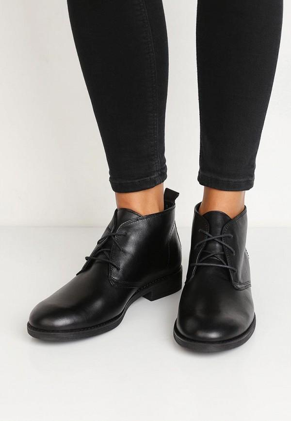 Фото 5 - женские ботинки и полуботинки Спартак черного цвета